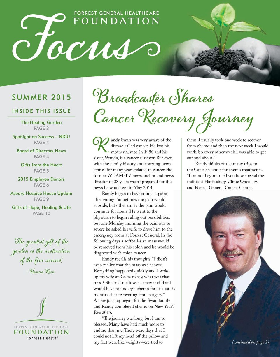 Broadcaster Shares Cancer Recovery Journey - PDF