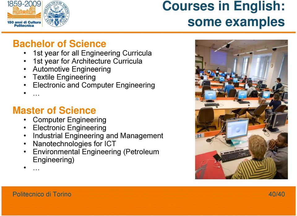 Computer Engineering Master of Science Computer Engineering Electronic Engineering Industrial