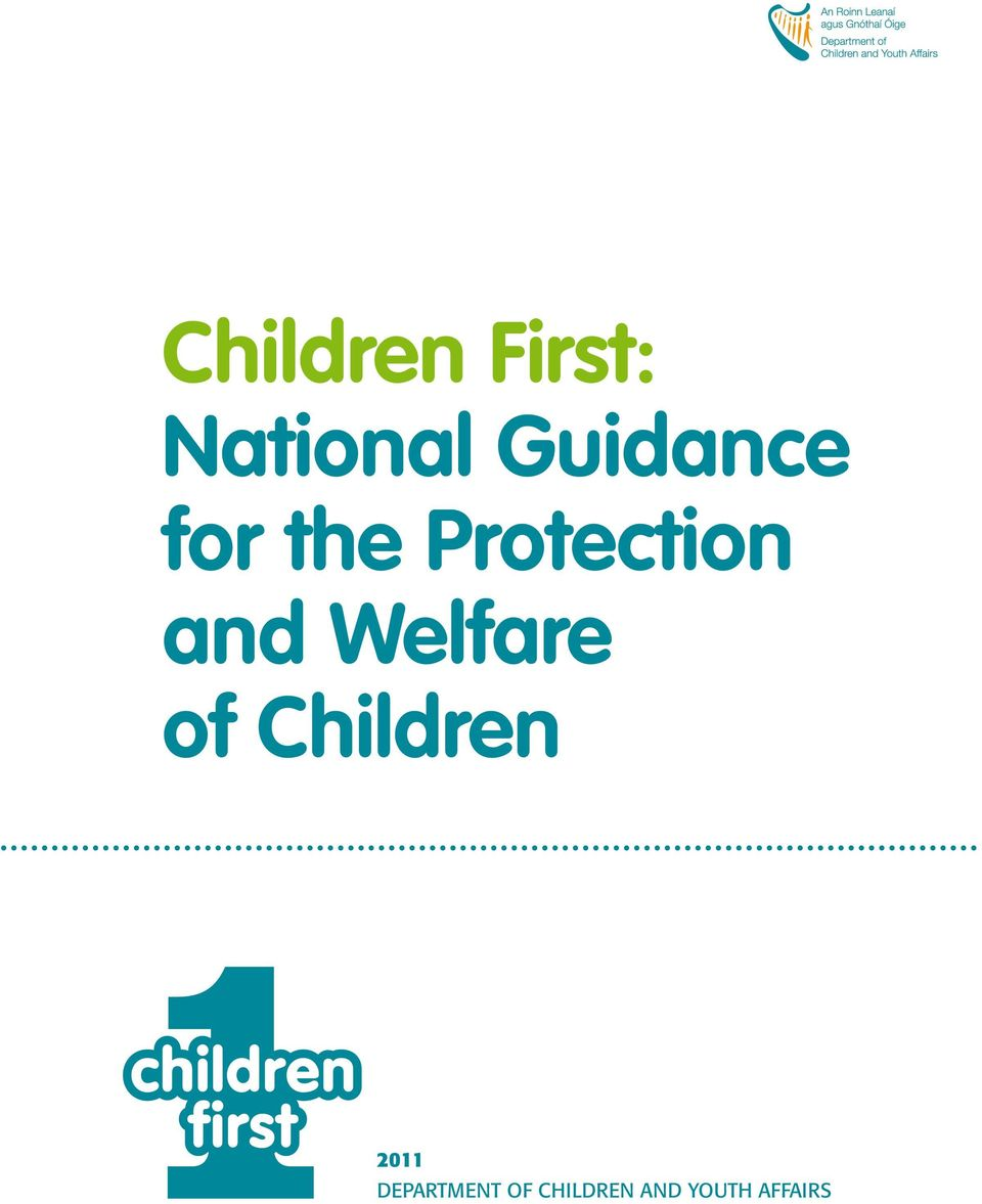and Welfare of Children 2011