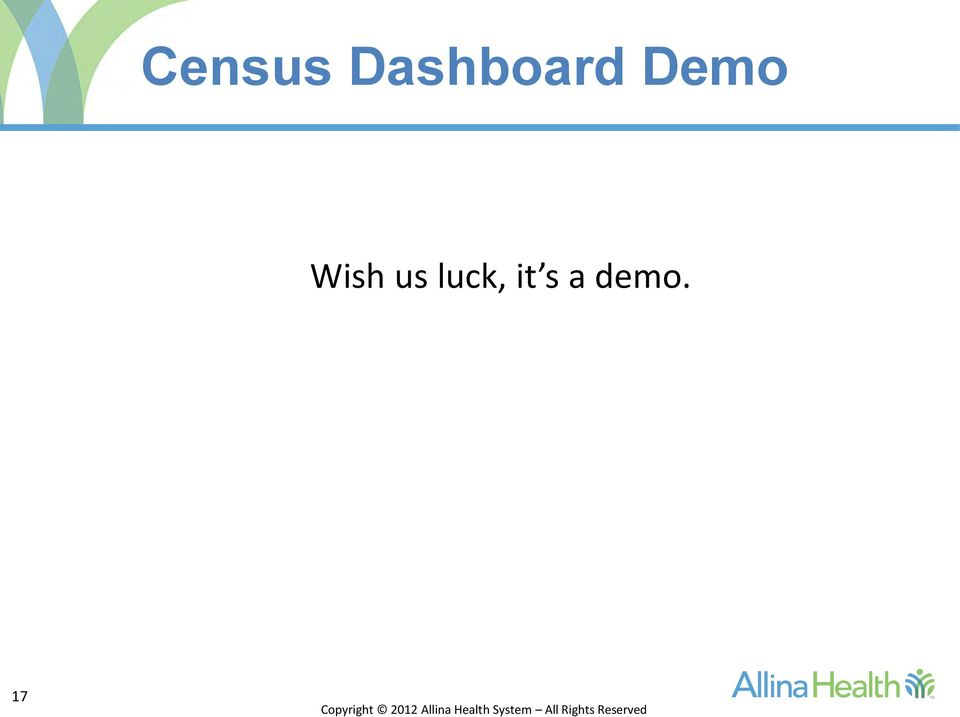 Demo Wish us