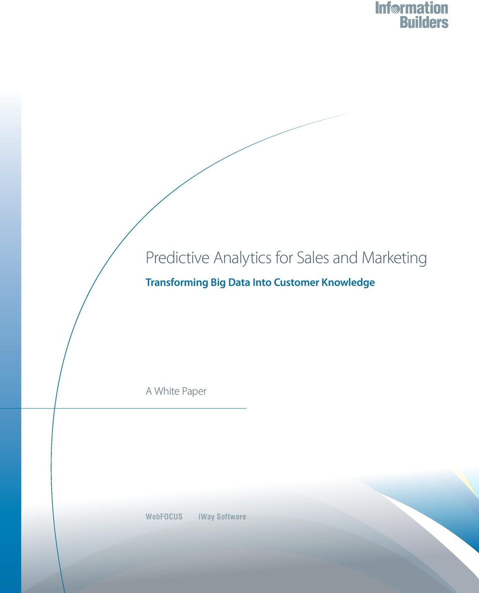 Data Into Customer Knowledge A