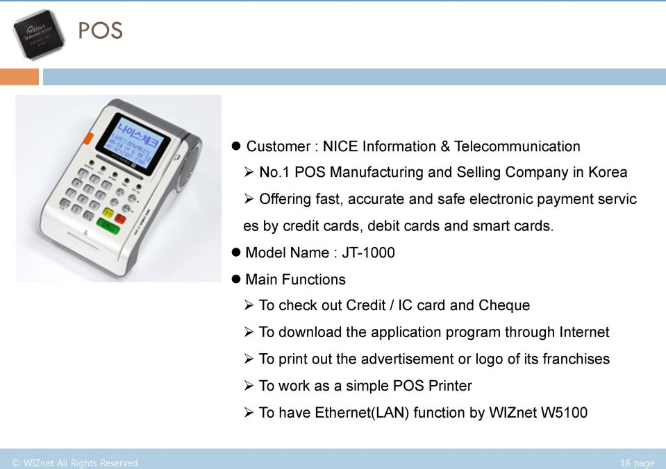debit cards and smart cards.