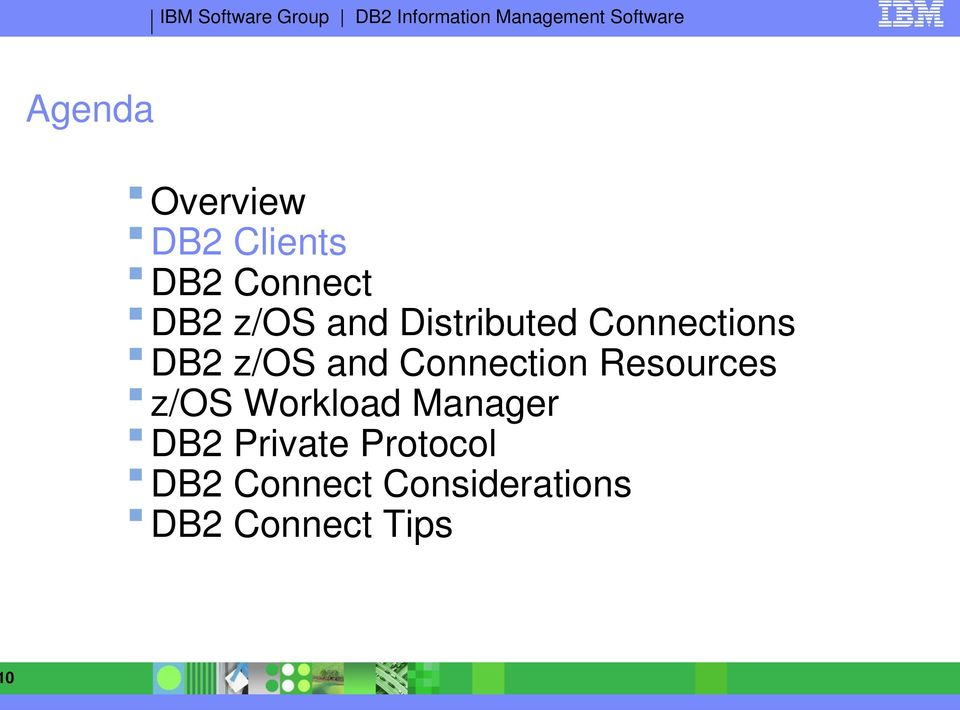 Connection Resources z/os Workload Manager DB2