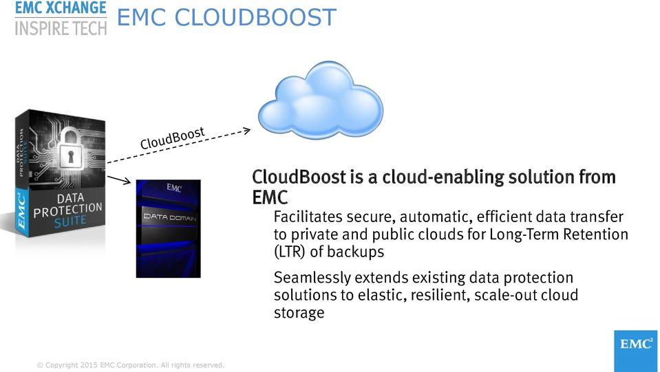 public clouds for Long-Term Retention (LTR) of backups Seamlessly