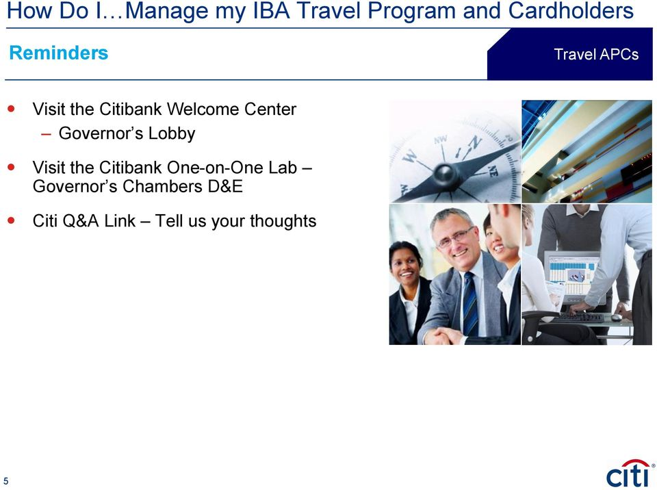 Citibank One-on-One Lab Governor s