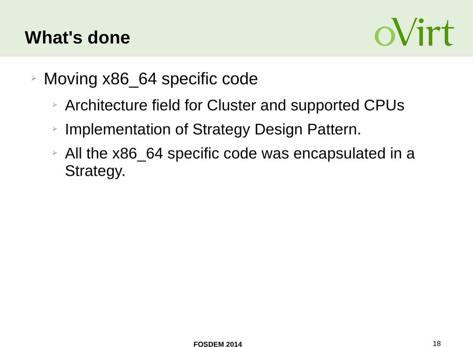 Implementation of Strategy Design Pattern.