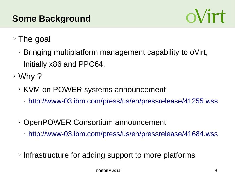 com/press/us/en/pressrelease/41255.wss OpenPOWER Consortium announcement http://www-03.