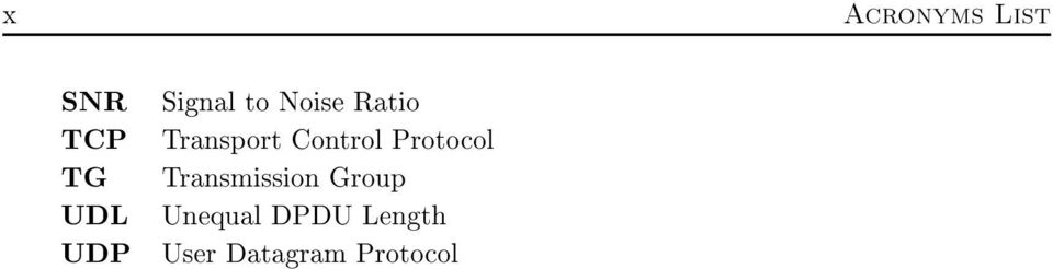Control Protocol Transmission Group