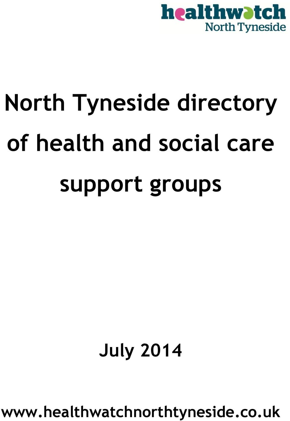 support groups July 2014