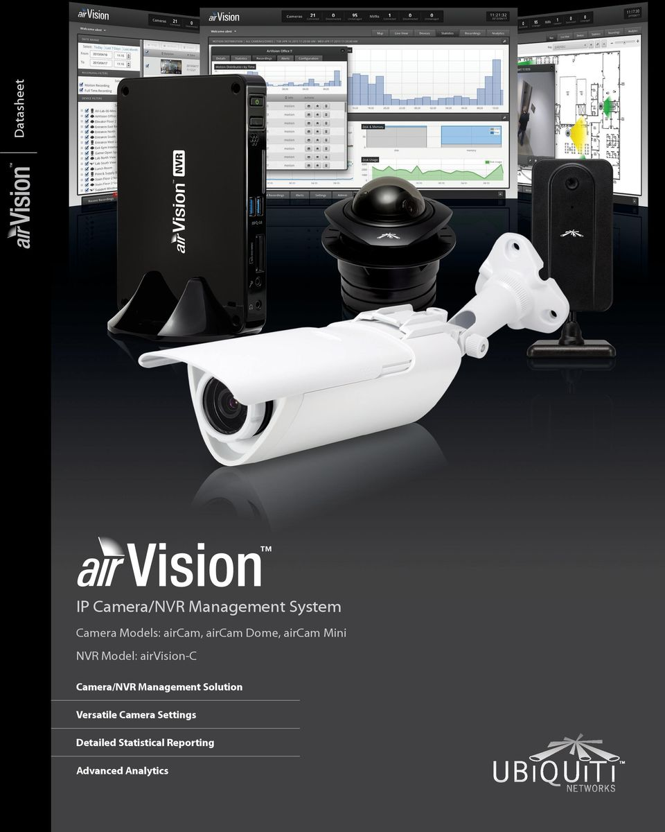 airvision-c Camera/NVR Management Solution Versatile