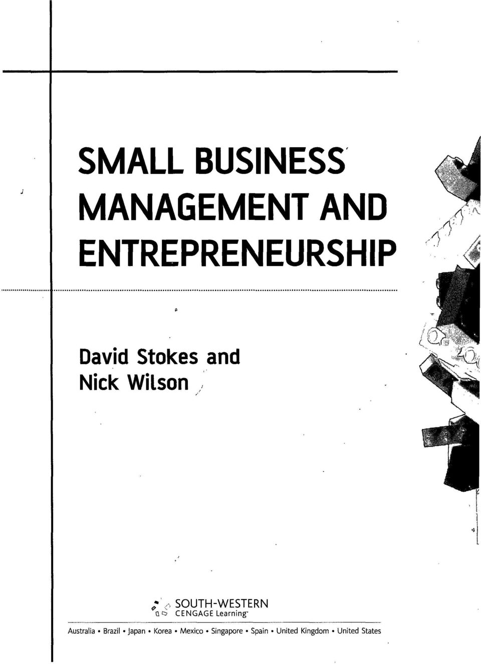 Small Business Management And Entrepreneurship Pdf