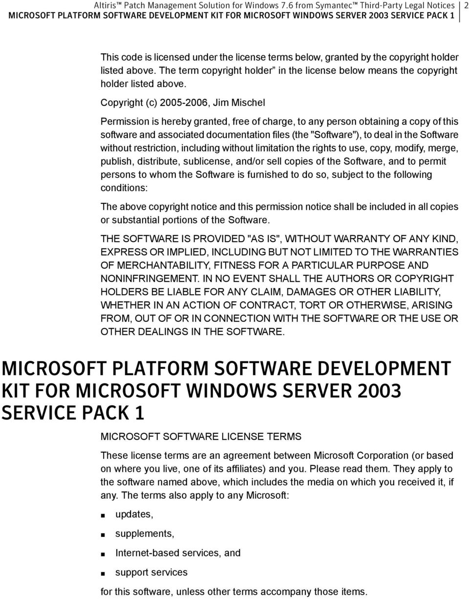 Software without restriction, including without limitation the rights to use, copy, modify, merge, publish, distribute, sublicense, and/or sell copies of the Software, and to permit persons to whom