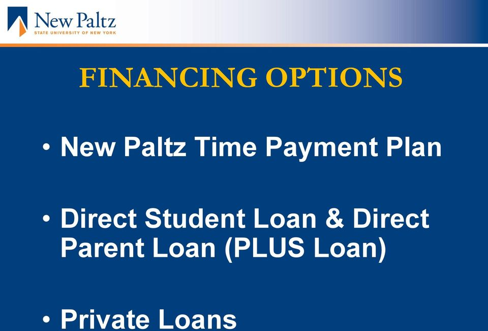 Student Loan & Direct