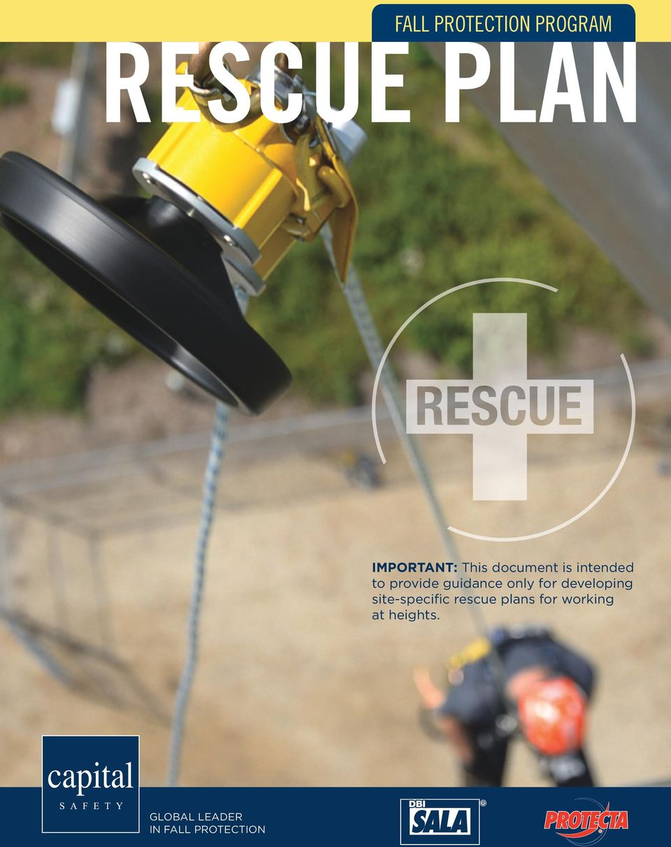 developing site-specific rescue plans for