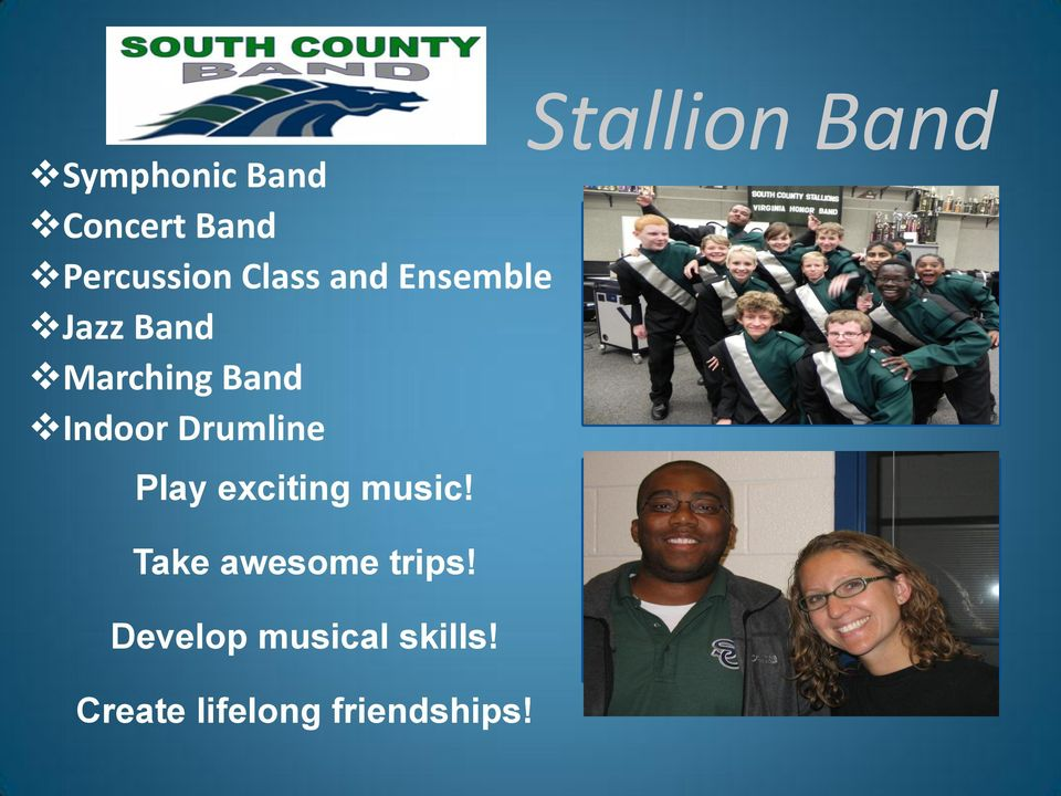 Stallion Band DeAlready taggedlete Take awesome trips!