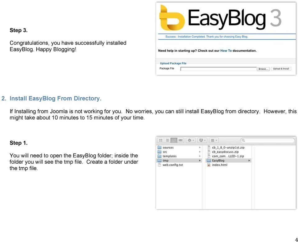 No worries, you can still install EasyBlog from directory.