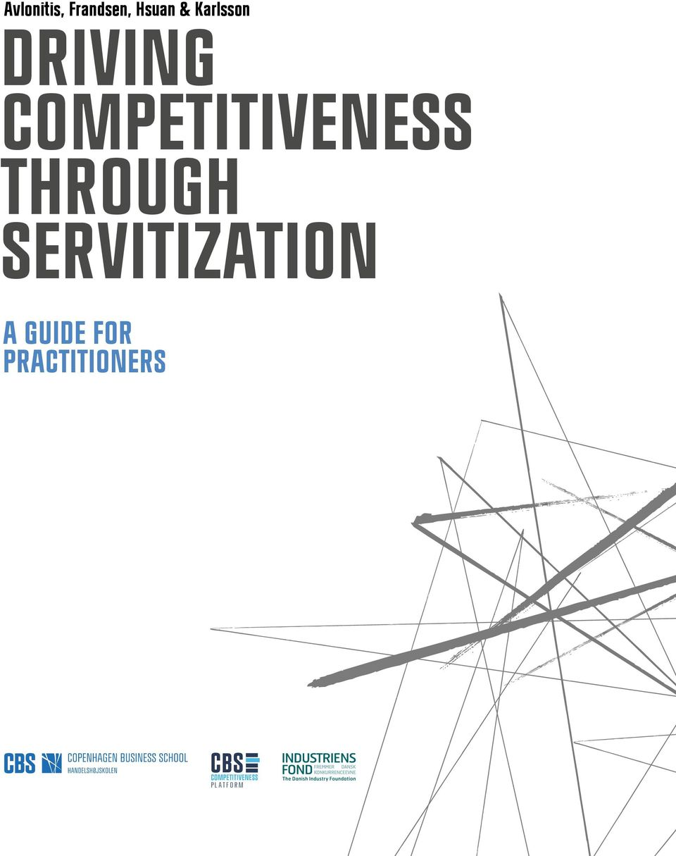 THROUGH SERVITIZATION A GUIDE FOR