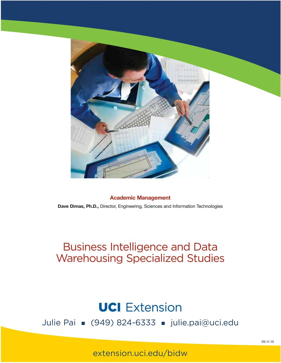 Business Intelligence And Data Warehousing Specialized Studies Pdf