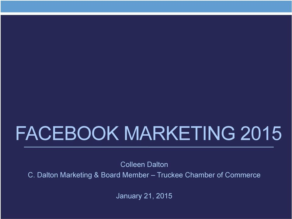 Dalton Marketing & Board