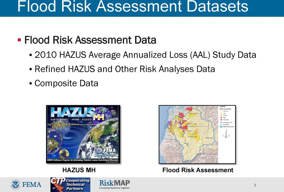 Loss (AAL) Study Data Refined HAZUS and Other