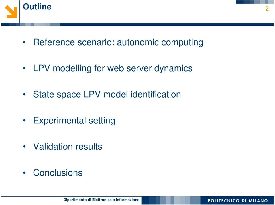 dynamics State space LPV model