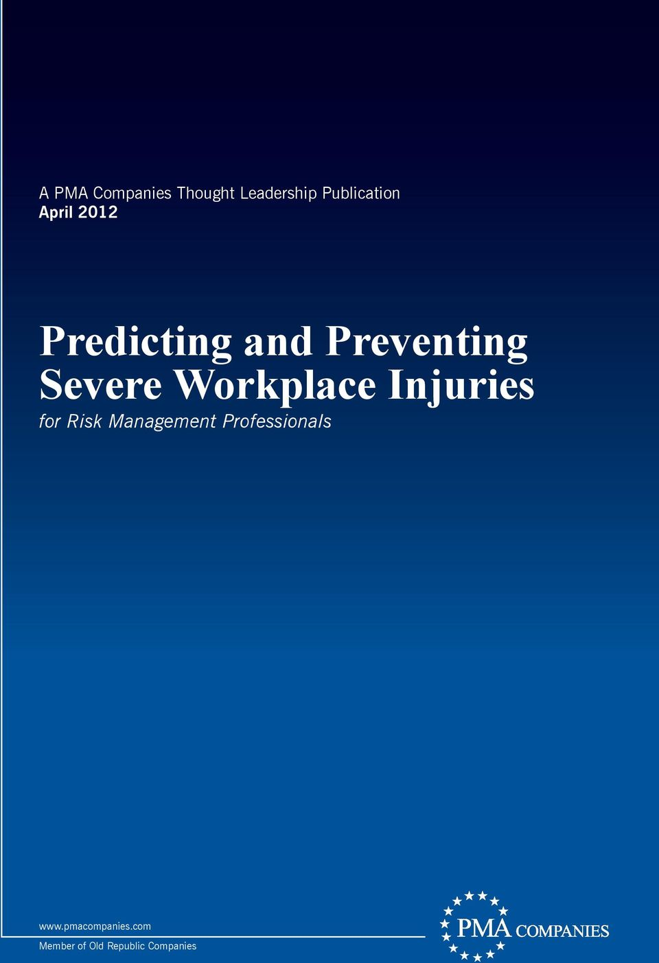 Workplace Injuries for Risk Management