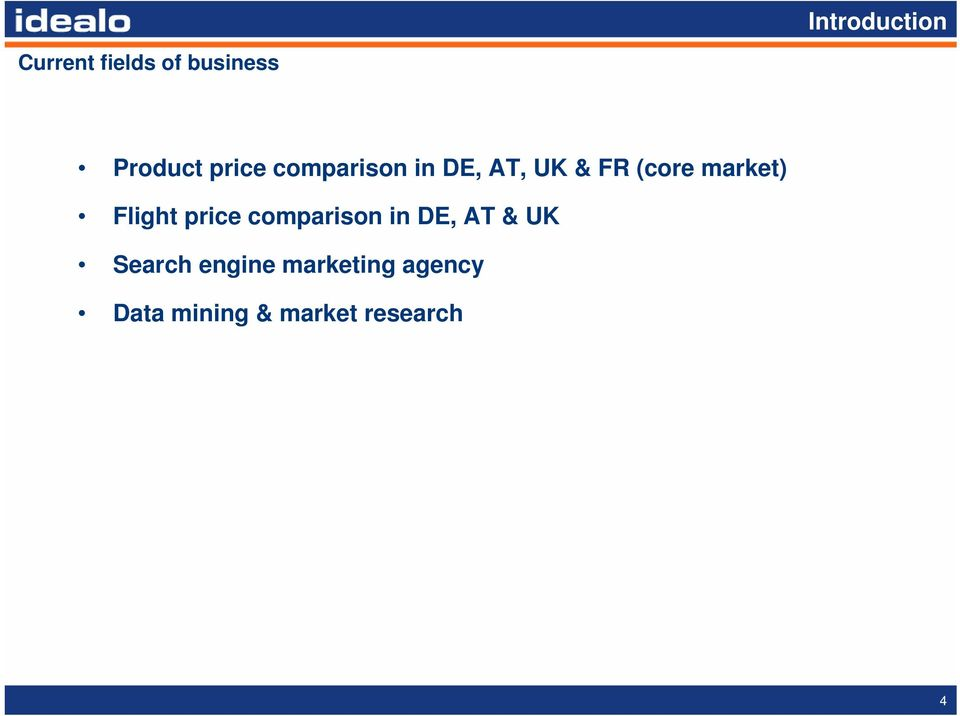 Flight price comparison in DE, AT & UK Search