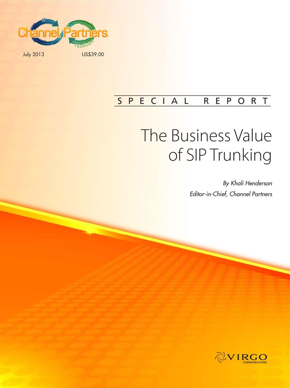 Business Value of SIP Trunking By