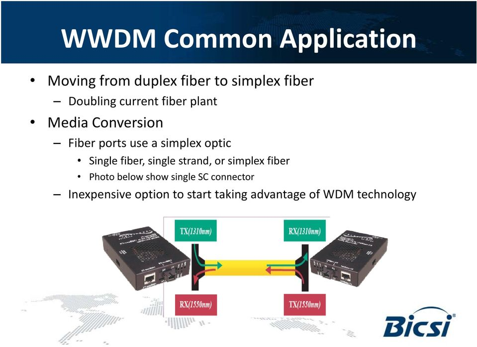 optic Single fiber, single strand, or simplex fiber Photo below show