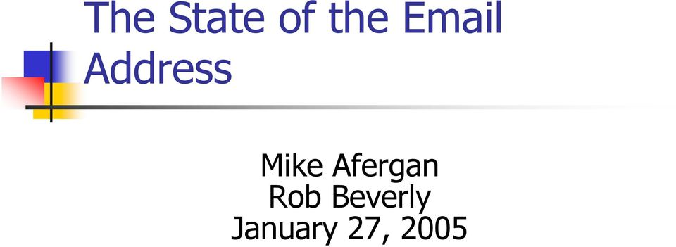 Mike Afergan Rob