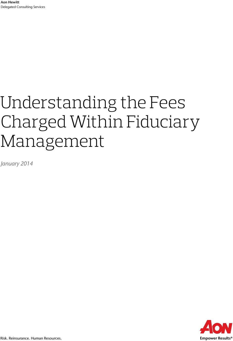 Charged Within Fiduciary Management