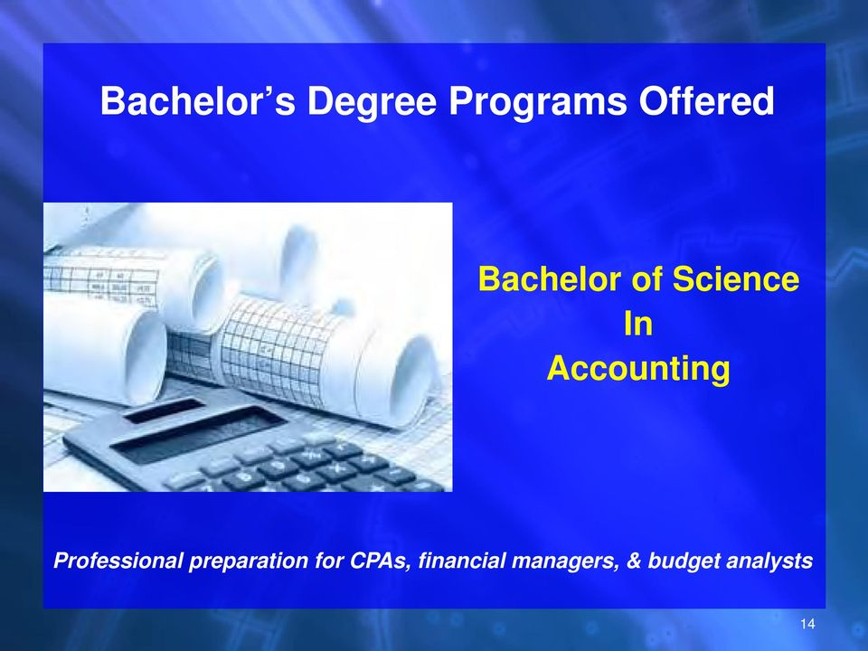 Professional preparation for CPAs,