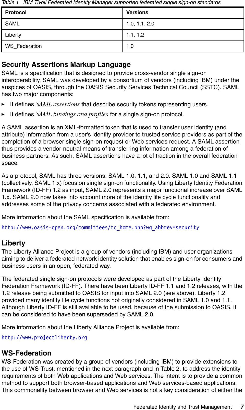 SAML was developed by a consortium of vendors (including IBM) under the auspices of OASIS, through the OASIS Security Services Technical Council (SSTC).