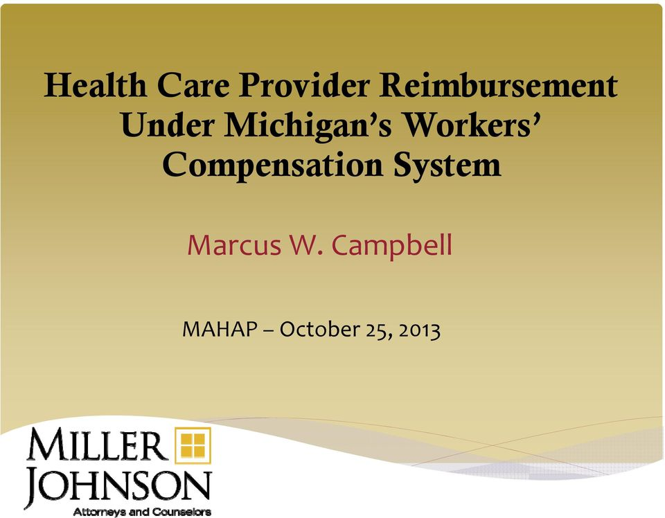Workers Compensation System