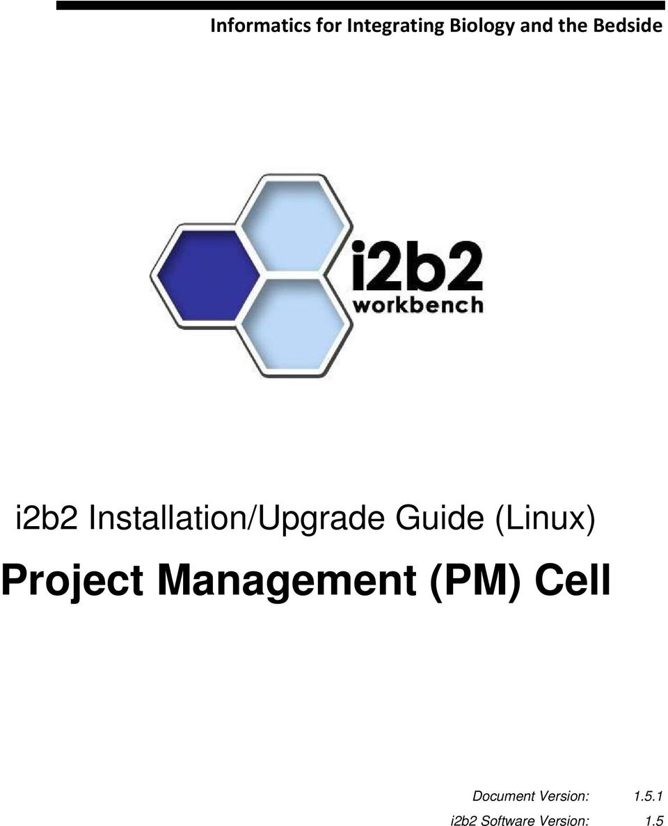 Guide (Linux) Project Management (PM) Cell