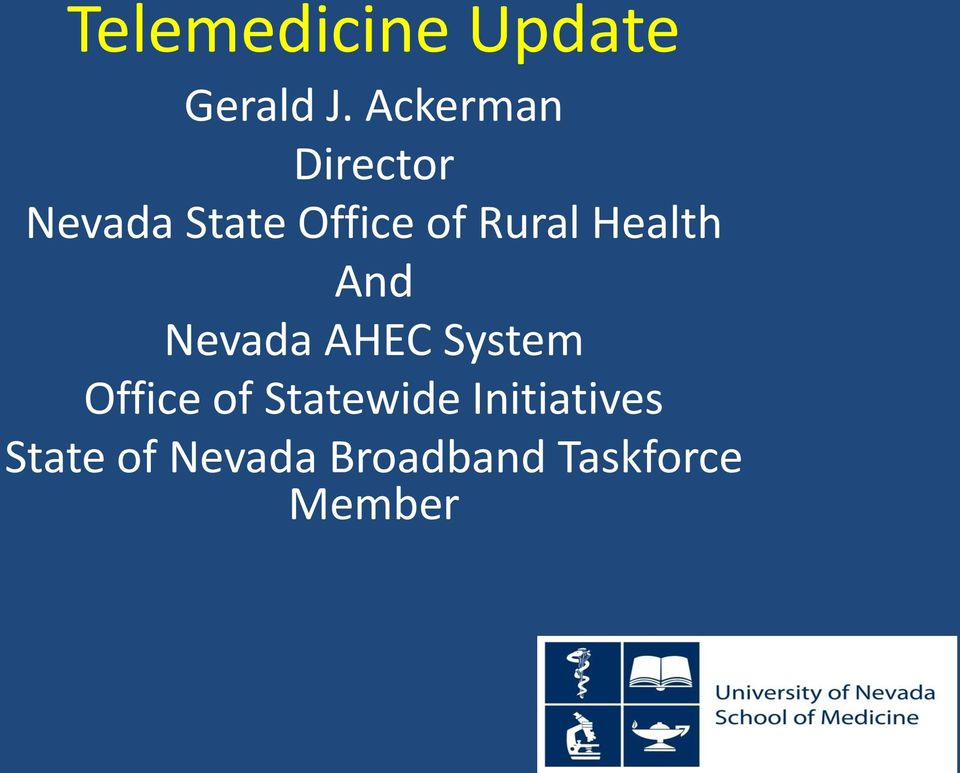 Rural Health And Nevada AHEC System Office of
