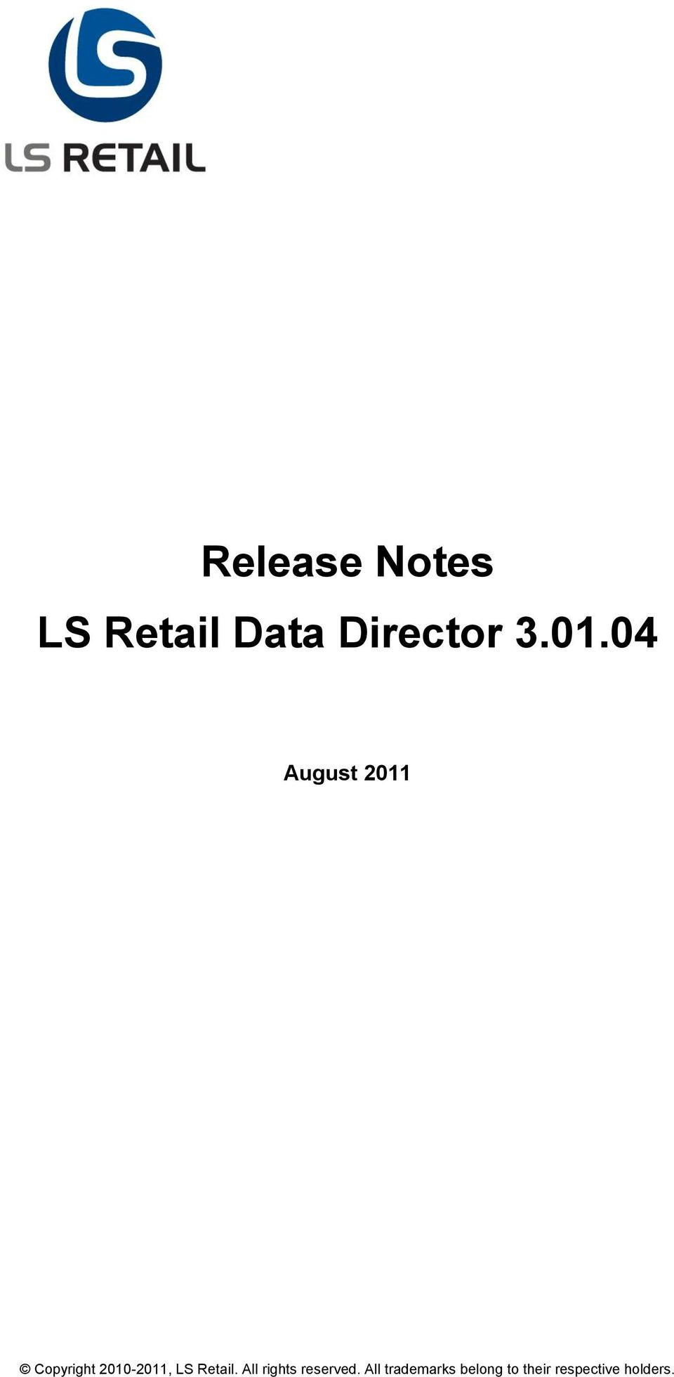 LS Retail. All rights reserved.
