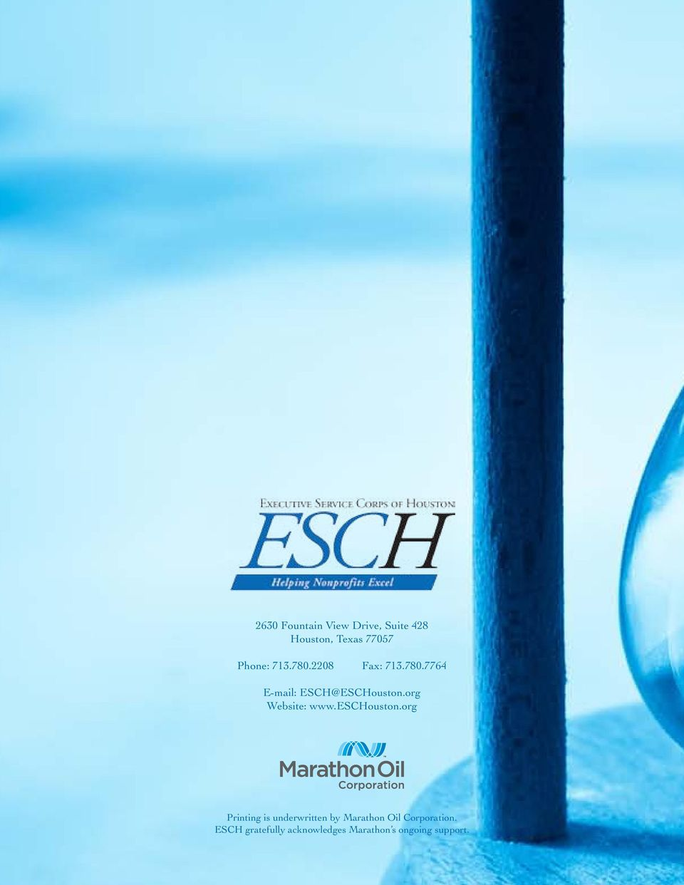 org Website: www.eschouston.