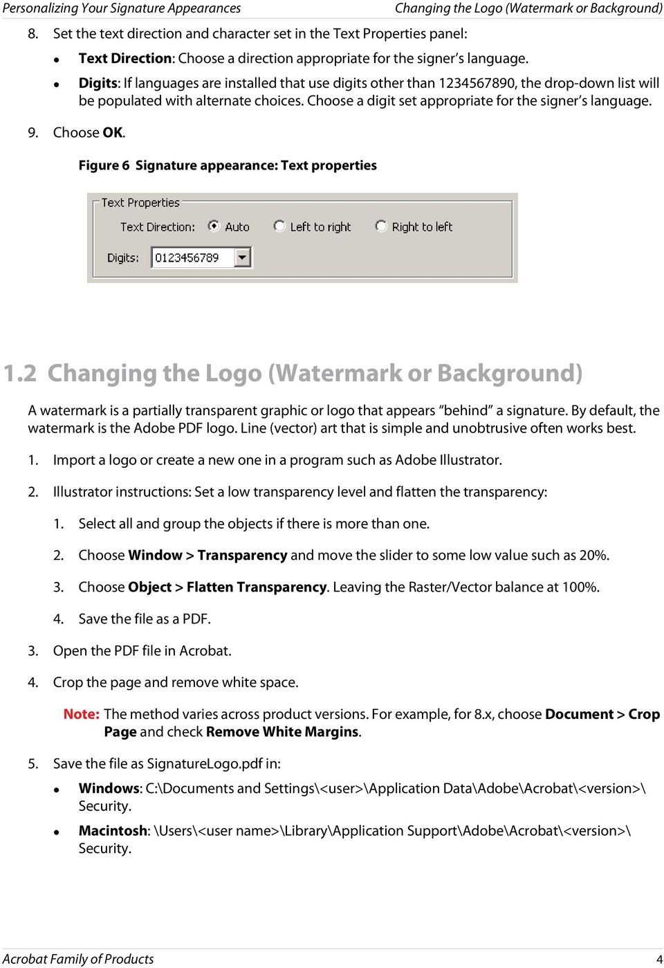 Personalizing Your Signature Appearances - PDF