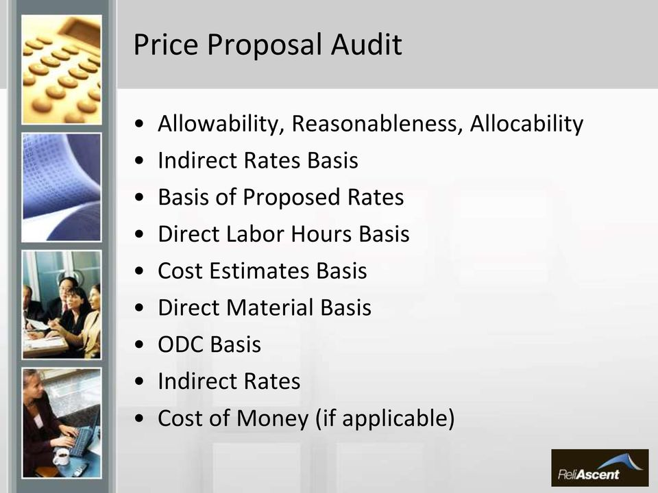Direct Labor Hours Basis Cost Estimates Basis Direct