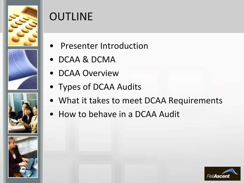 Audits What it takes to meet DCAA