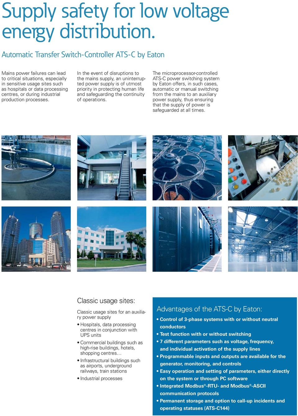 industrial production processes.