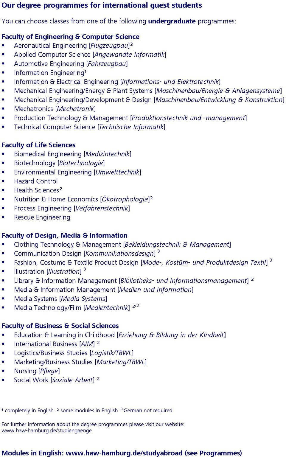 Mechanical Engineering/Energy & Plant Systems [Maschinenbau/Energie & Anlagensysteme] Mechanical Engineering/Development & Design [Maschinenbau/Entwicklung & Konstruktion] Mechatronics [Mechatronik]