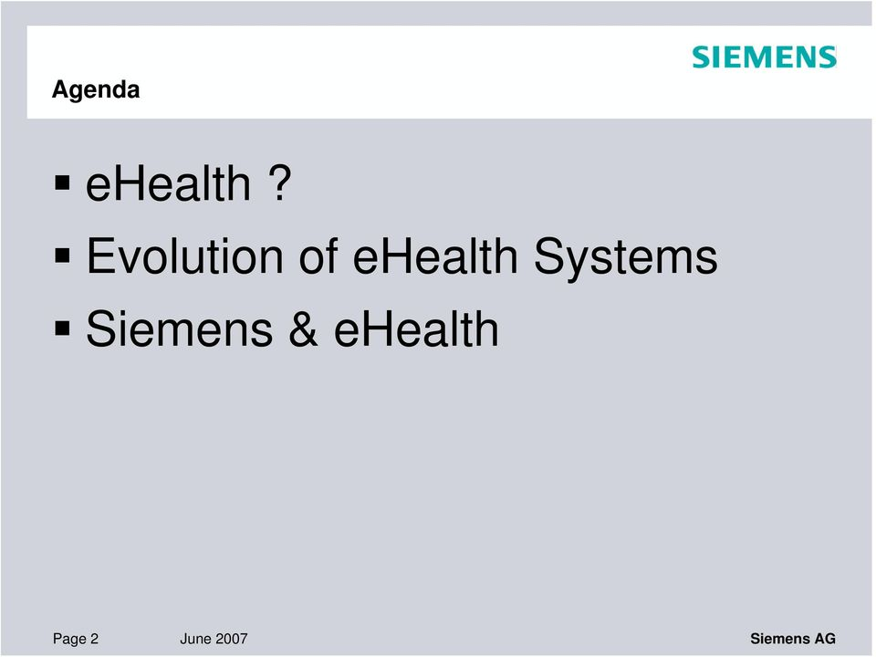 Systems Siemens &