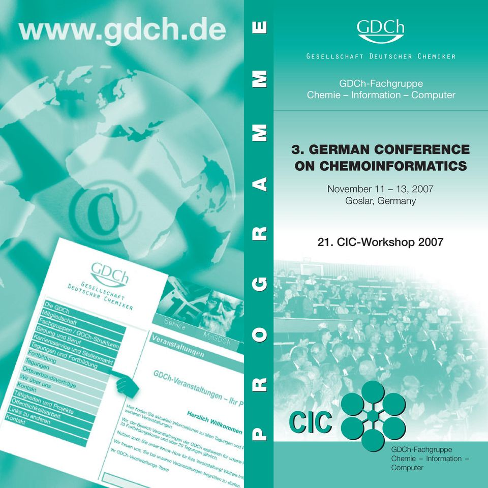 German Conference on Chemoinformatics November 11
