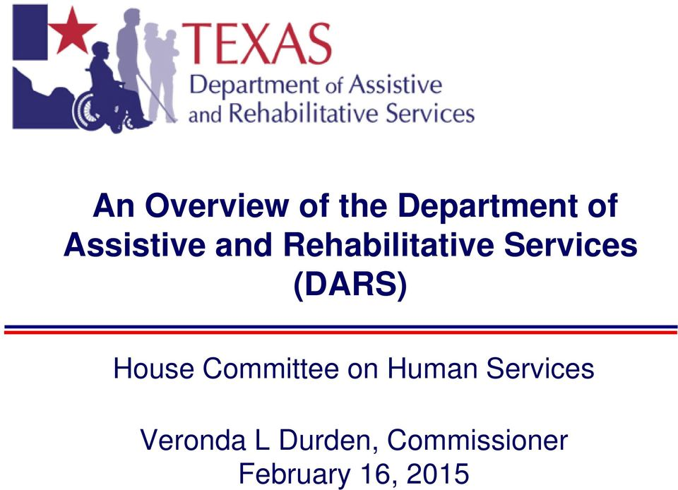 (DARS) House Committee on Human