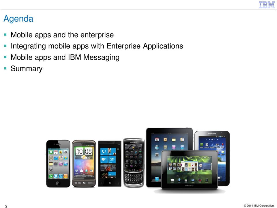 apps with Enterprise