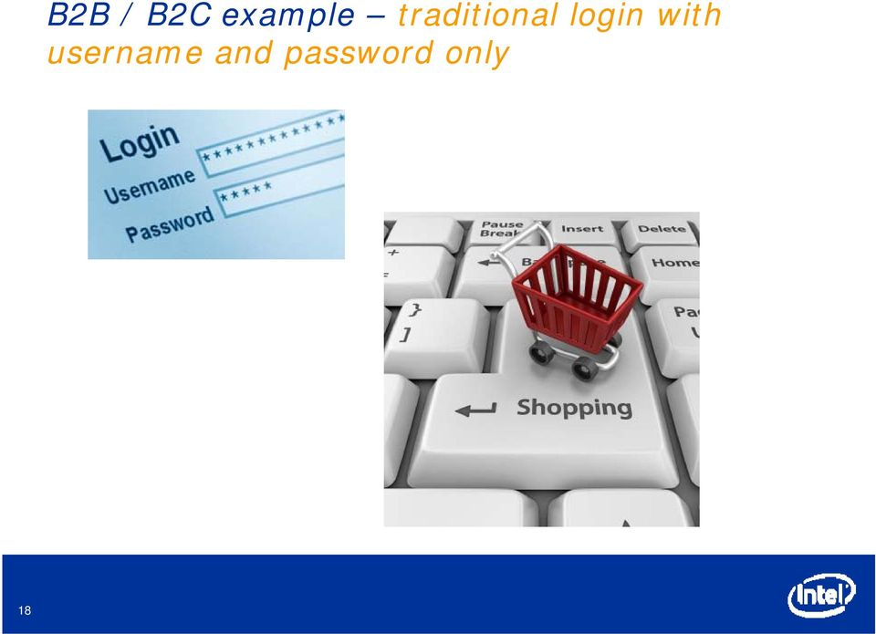 traditional login
