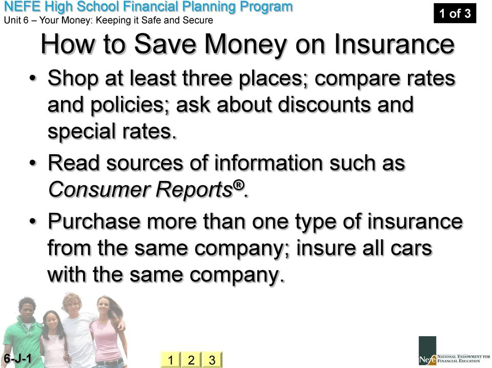 Read sources of information such as Consumer Reports.