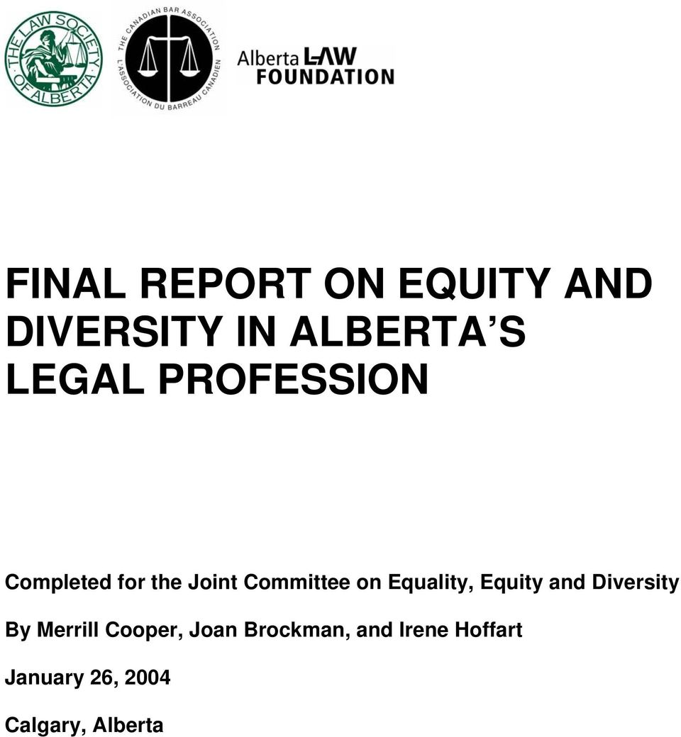 Equality, Equity and Diversity By Merrill Cooper, Joan